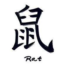 The Chinese symbol for the Rat