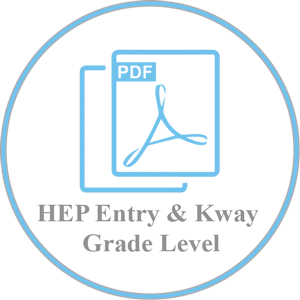 HEP Entry Level and Kingsway EAP Grades