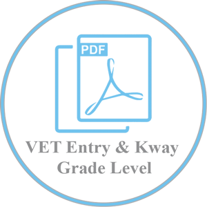 VET Entry Level and Kingsway GE Grade